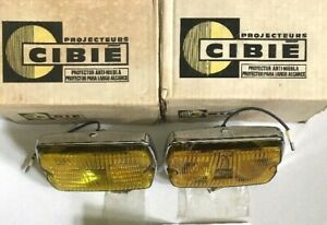 Cibie Projecteurs Mebelschinwerfer Lot Of 2 iode 35 new Within The Box