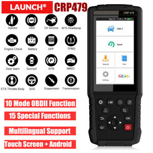 Launch X431 Obd2 Automotive Scanner Code Reader Abs Epb Dpf Oil Injector Coding