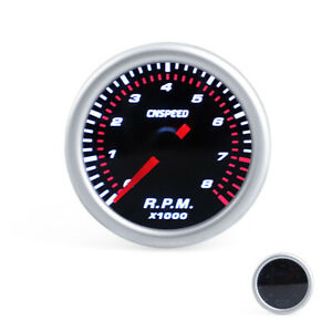 2 52mm Electrical Car Pointer Tachometer Tacho Gauge Meter 8000rpm With Sensor