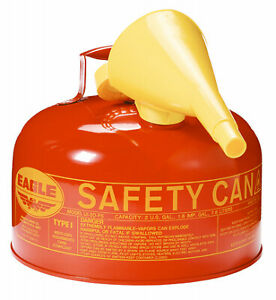 Eagle Mfg Co Safety Gas Can Type I 2 gal Ui 20 fs