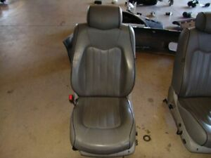 07 Maserati Quattroporte Sport Gt M139 Front Left Driver Seat Assembly Grey