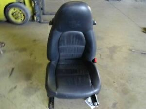 99 Porsche 911 996 C2 Coupe Front Right Passenger Seat Supple Leather Black