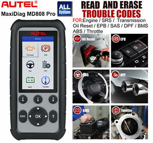 Autel Maxidiag Md806 Pro All System Diagnostic Scanners Engine Sas Epb Bms Dpf