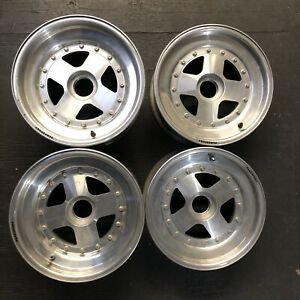 Panasport 13 Inch Three Piece Centerlock F2000 Wheels