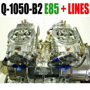 Quick Fuel Q 1050 b2 E85 1050 Cfm Blower Supercharger Carbs Clear Carbs W Lines