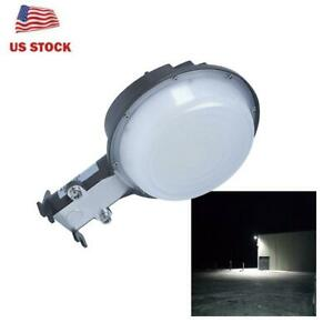 Wall Pack Led Barn Light 75w Outdoor Fixture Security Photo Cell Dusk To Dawn