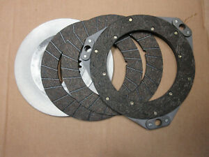 Clutch Disc Set For John Deere A G New Reproduction Riveted F195r