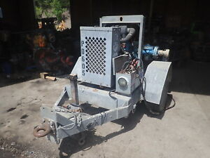 2007 Power Prime Dv100c 6 Water Pump Dewatering Perkins Diesel Dv100