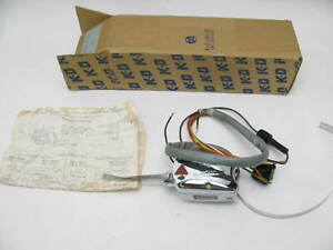 Nos Vintage Kd 728 Chrome 7 wire Turn Signal Switch Rat Rod Universal