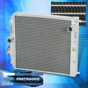 For 92 00 Honda Civic M t Oe Replacement Tri core row Aluminum Racing Radiator