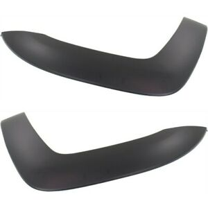 Fender Flares Set For 2005 2015 Toyota Tacoma Front Left Right Black 2pc