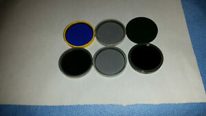 Zeiss Microscope Wl Standard Photomicroscope Universal 6 Filters 32mm