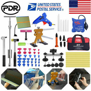 81pc Pdr Tools Dent Puller Lifter Paintless Hail Removal Auto Body Slide Hammer