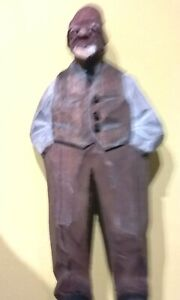 Pgasteelers1 Hand Carving Of Black Man Standing Hands In Pocket By Quebeck 1938