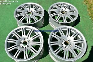 19 Bmw E46 M3 Oem Factory Style M Double Spoke 67 Wheels E91 E46 E92 E90