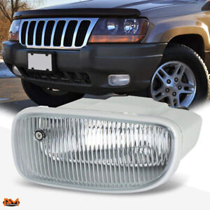For 99 01 Jeep Grand Cherokee Oe Style Front Bumper Driving Fog Light Lamp Left