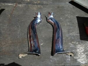 1959 1960 Cadillac Impala Convertible Windshield Molding Pair Left Right