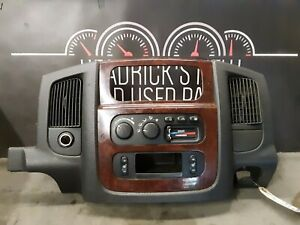 2003 Dodge Ram 1500 Center Dash Bezel