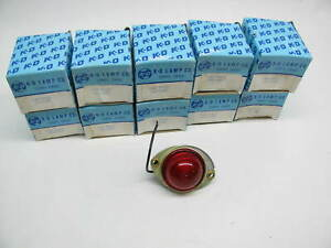 X10 Vintage Kd Lamps 524 1601 10 Side Marker Lights Red Kd 524