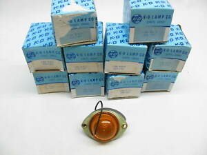 X10 Vintage Kd Lamps 524 1101 Amber Side Marker Lights Kd 524