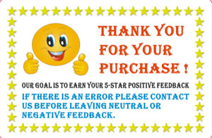 Thank You For Your Purchase Label Stickers Rolls Of 100 250 500 1000 2 X 3