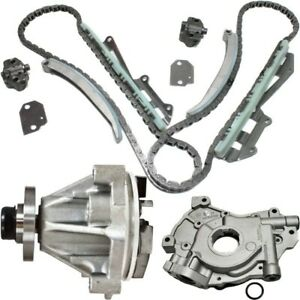 Timing Chain Kit For 97 2002 Ford F 150 97 99 F 250 W Water Oil Pump