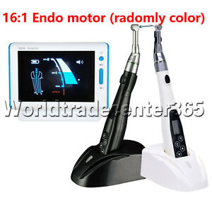Dental Endodontic 16 1 Led Endo Motor Apex Locator Gutta Percha Heated Pen Jiss