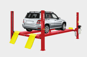 Amgo Pro 12sx 4 Post Heavy Duty Commercial Truck auto Lift 12 000 Lb Cap