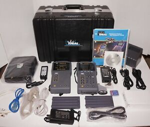 Ideal Industries Lantek 6a Premium 500 Mhz Cable Certifier Tester Hard Case Used