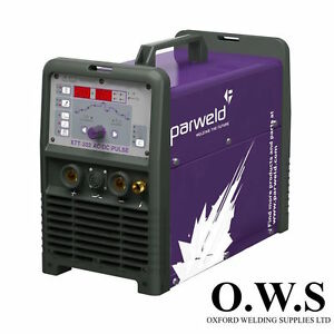 Parweld Xtt 202 P Ac dc Pulsed Tig Inverter With Mma Pro grip 26 Reg Leads
