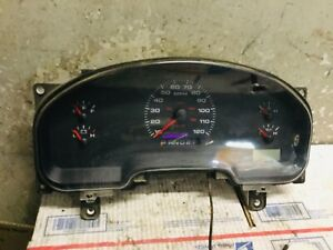04 05 Ford F150 Speedometer Instrument Panel Cluster Column Shift Xl Base Model