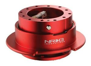Nrg Steering Wheel Quick Release Gen 2 5 Red Color