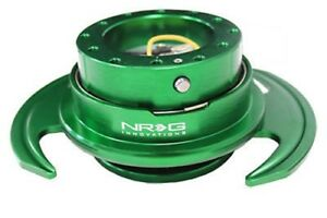 Nrg 3 0 Gen Steering Wheel Quick Release Hub Green