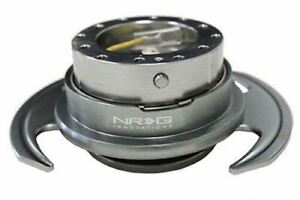 Nrg 3 0 Gen Steering Wheel Quick Release Hub Gun Metal