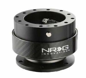 Nrg Gen 2 0 Steering Wheel Quick Release Carbon Ring