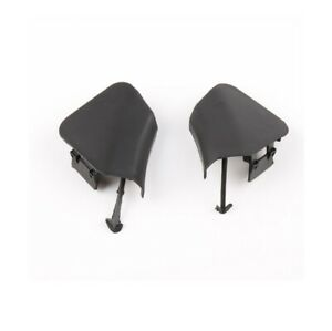 Pair Front Bumper Tow Hook Eye Cover Cap For Toyota Highlander 11 12 13