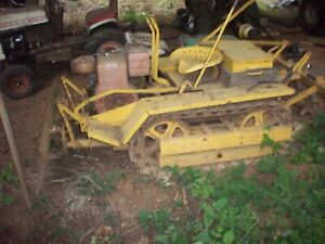 Antique Agricat Mini Dover Agri Cat Bulldozer Crawler Struck Windolph Vaughan