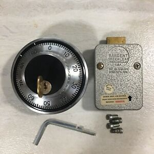 Sargent Greenleaf Mechanical Safe Lock Group 2 With Key Dial 3 Combo wheel