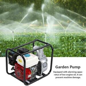 3 Inch Petrol Gasoline Water Transfer Pump 6 5hp 7m Garden Irrigation