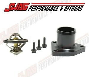 Billet Thermostat Housing With Oem Thermostat For 99 5 03 Ford Powerstroke 7 3