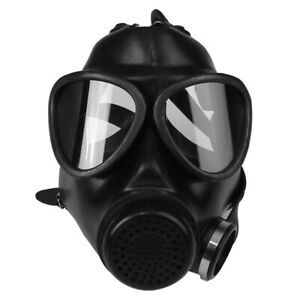 87 Type Gas Mask Military Defense Fire Drill Chemical Protective Safety Z1r8