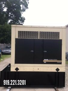 Used 80 Kw 100 Kva Kohler Diesel Generator 868 Hrs 3 Phase Great Condition