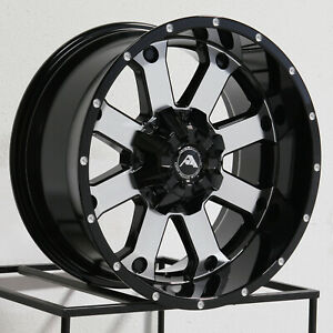 20x10 Ameican Off Road A108 6x135 24 Black Machined Wheels Rims Set 4