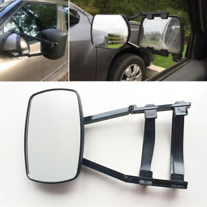 Universal Truck Car Adjustable Clip On Towing Side Mirror Extension Wing Mirror
