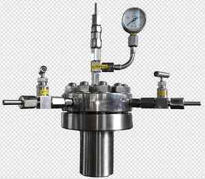 316 Stainless Steel High Pressure Hydrothermal Autoclave Reactor 500ml 380