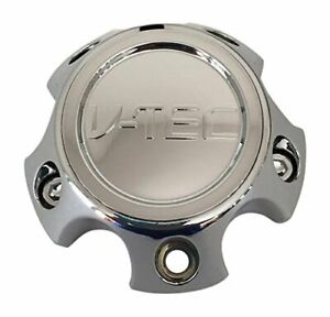V tec Wheels C392 5c65 Chrome Wheel Center Cap