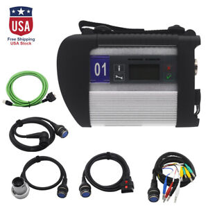 Mb Star C4 Mb Sd Connect Compact 4 Diagnostic Tool For Mercedes Benz Car Lsr