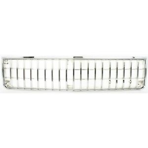 For 1986 1990 Chevy Caprice Impala Grille Chrome Argent