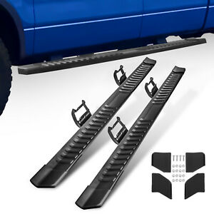 For 15 20 Ford F150 Crew Cab Nerf Bars Running Board Side Step Set Of 2