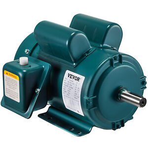 Electric Motor nema Farm Duty 2 Hp 1725rpm 145t 1ph 7 8 Shaft Tefc 115 230v